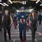 Chris Evans, Scarlett Johansson, Jeremy Renner