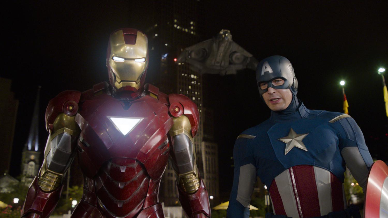 Chris Evans, Robert Downey Jr.