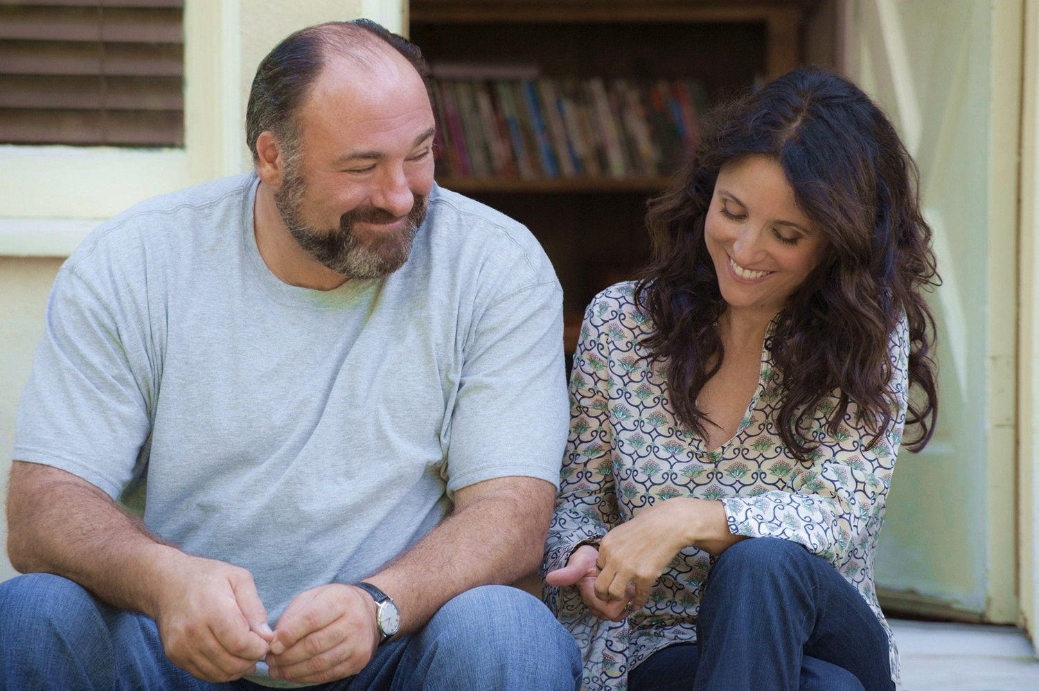 Julia Louis-Dreyfus, James Gandolfini