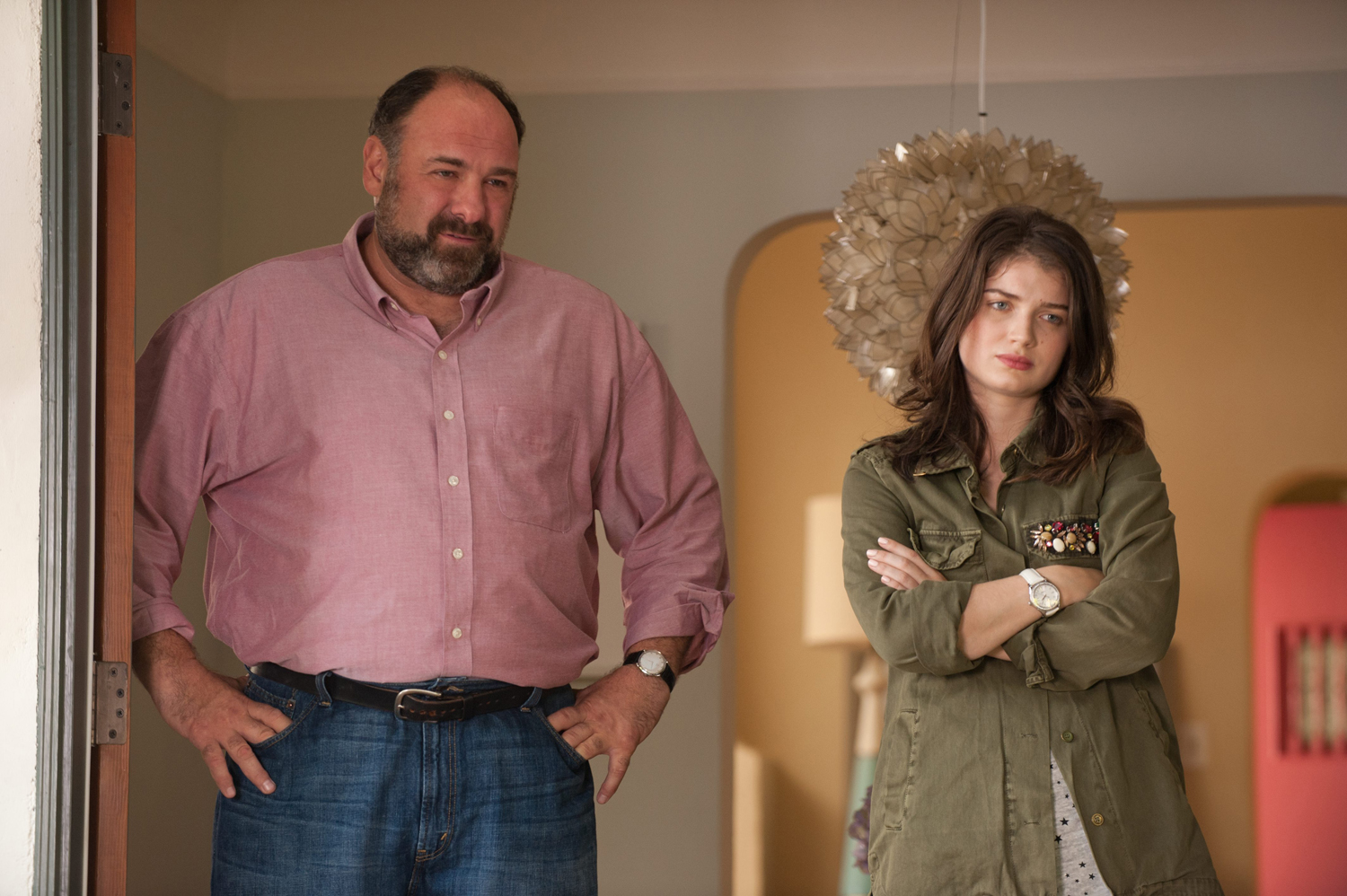 James Gandolfini, Eve Hewson