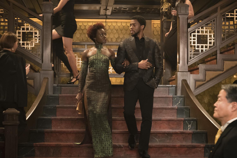 Lupita Nyong'o, Chadwick Boseman