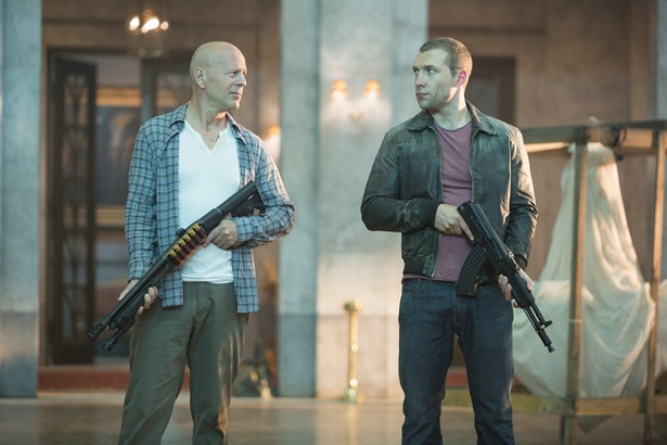 Bruce Willis,Jai Courtney