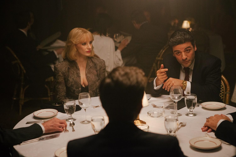 Jessica Chastain,Oscar Isaac