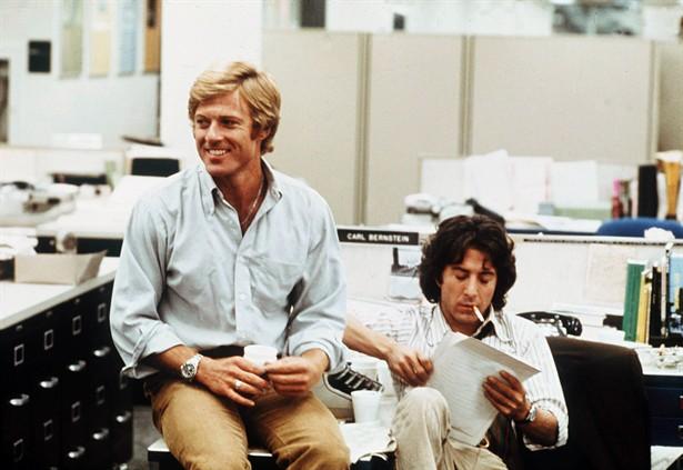 Dustin Hoffman,Robert Redford