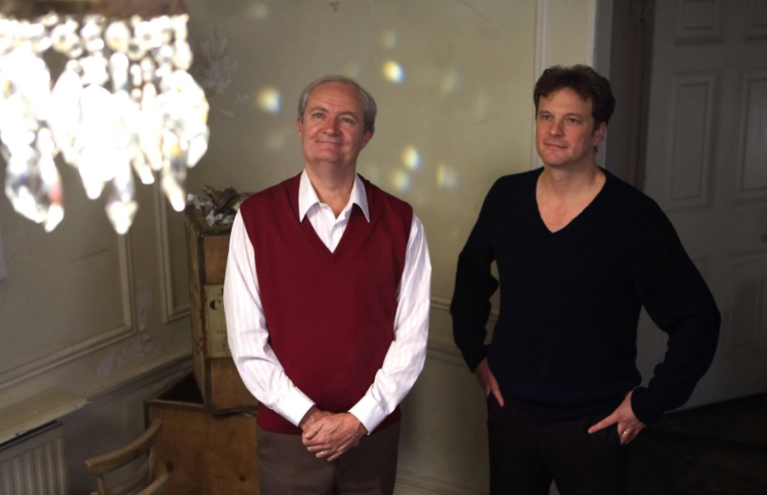 Colin Firth,Jim Broadbent