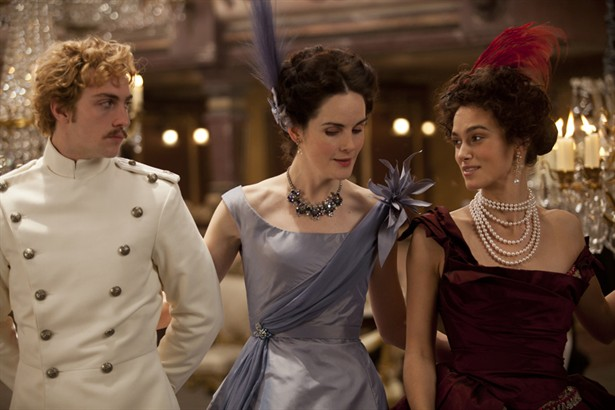 Aaron Taylor-Johnson,Keira Knightley,Michelle Dockery