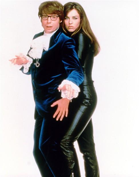 Elizabeth Hurley,Mike Myers