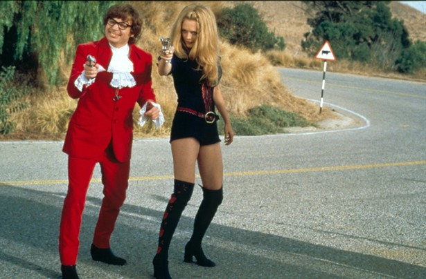 Heather Graham,Mike Myers