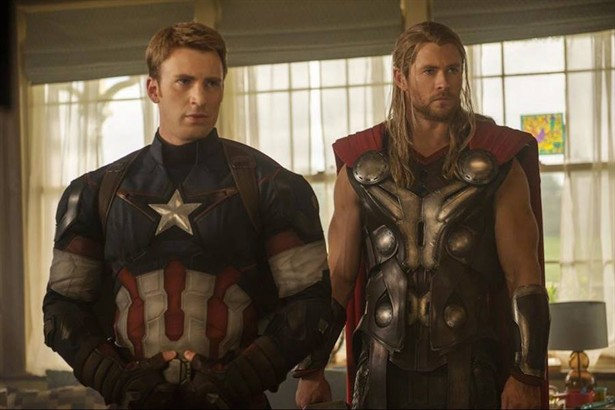 Chris Evans, Chris Hemsworth