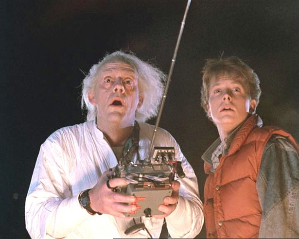 Christopher Lloyd,Michael J. Fox