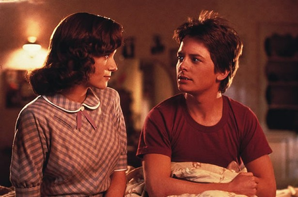 Lea Thompson,Michael J. Fox