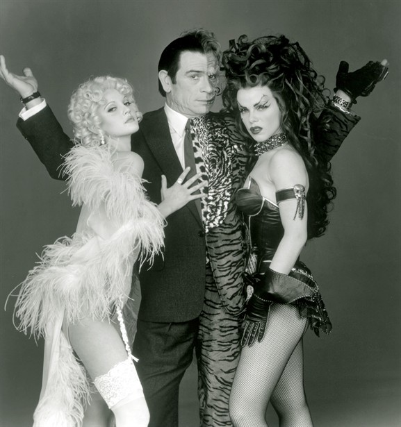 Debi Mazar,Drew Barrymore,Tommy Lee Jones