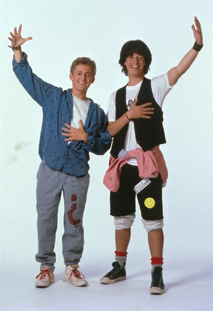 Alex Winter,Keanu Reeves