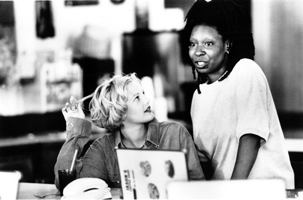 Drew Barrymore,Whoopi Goldberg