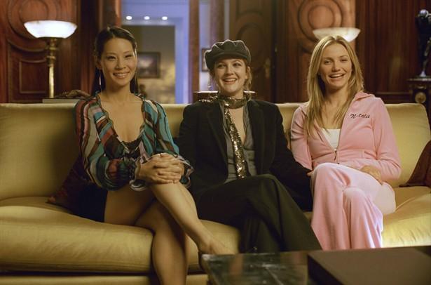 Cameron Diaz,Drew Barrymore,Lucy Liu