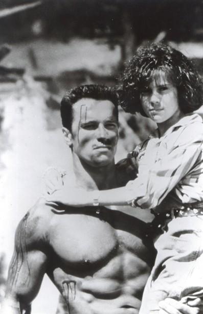 Alyssa Milano,Arnold Schwarzenegger