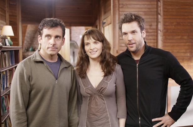 Dane Cook,Juliette Binoche,Steve Carell