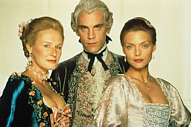 Glenn Close,John Malkovich,Uma Thurman
