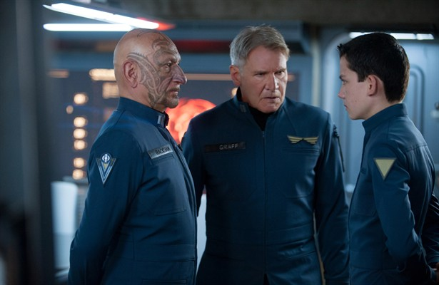 Asa Butterfield,Ben Kingsley,Harrison Ford