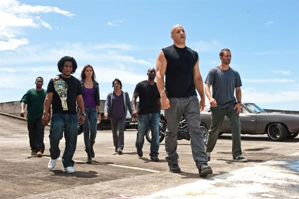 Jordana Brewster,Paul Walker,Sung Kang,Tyrese Gibson,Vin Diesel