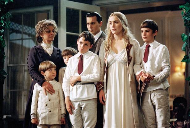 Freddie Highmore,Johnny Depp,Julie Christie,Kate Winslet