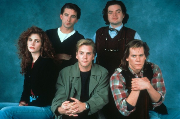 Julia Roberts,Kevin Bacon,Kiefer Sutherland,Oliver Platt,William Baldwin