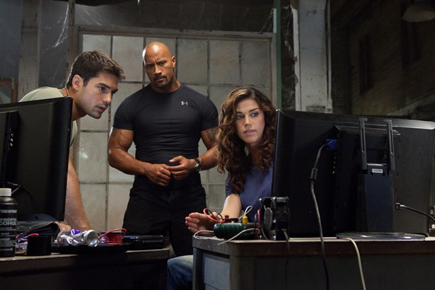 Adrianne Palicki,D.J. Cotrona,Dwayne 'The Rock' Johnson