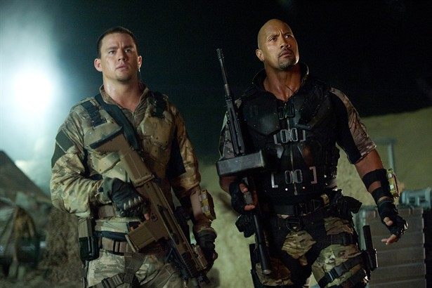 Channing Tatum,Dwayne 'The Rock' Johnson