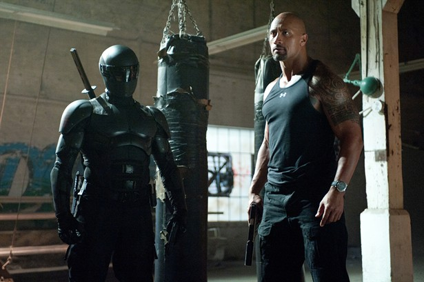 Dwayne Johnson, Ray Park