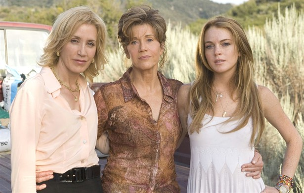 Felicity Huffman,Jane Fonda,Lindsay Lohan