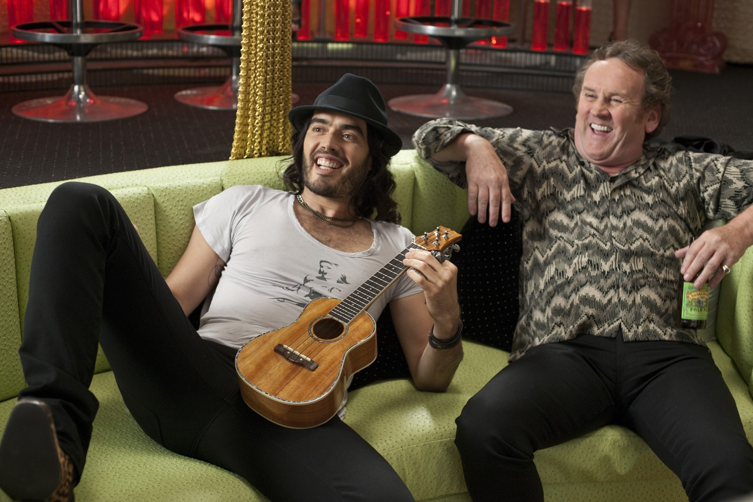 Colm Meaney,Russell Brand
