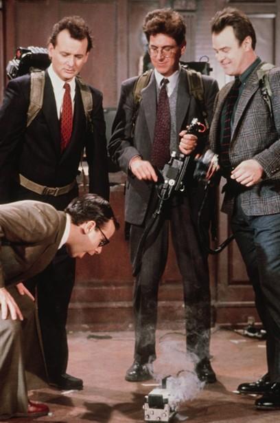 Bill Murray,Dan Aykroyd,Harold Ramis,Rick Moranis