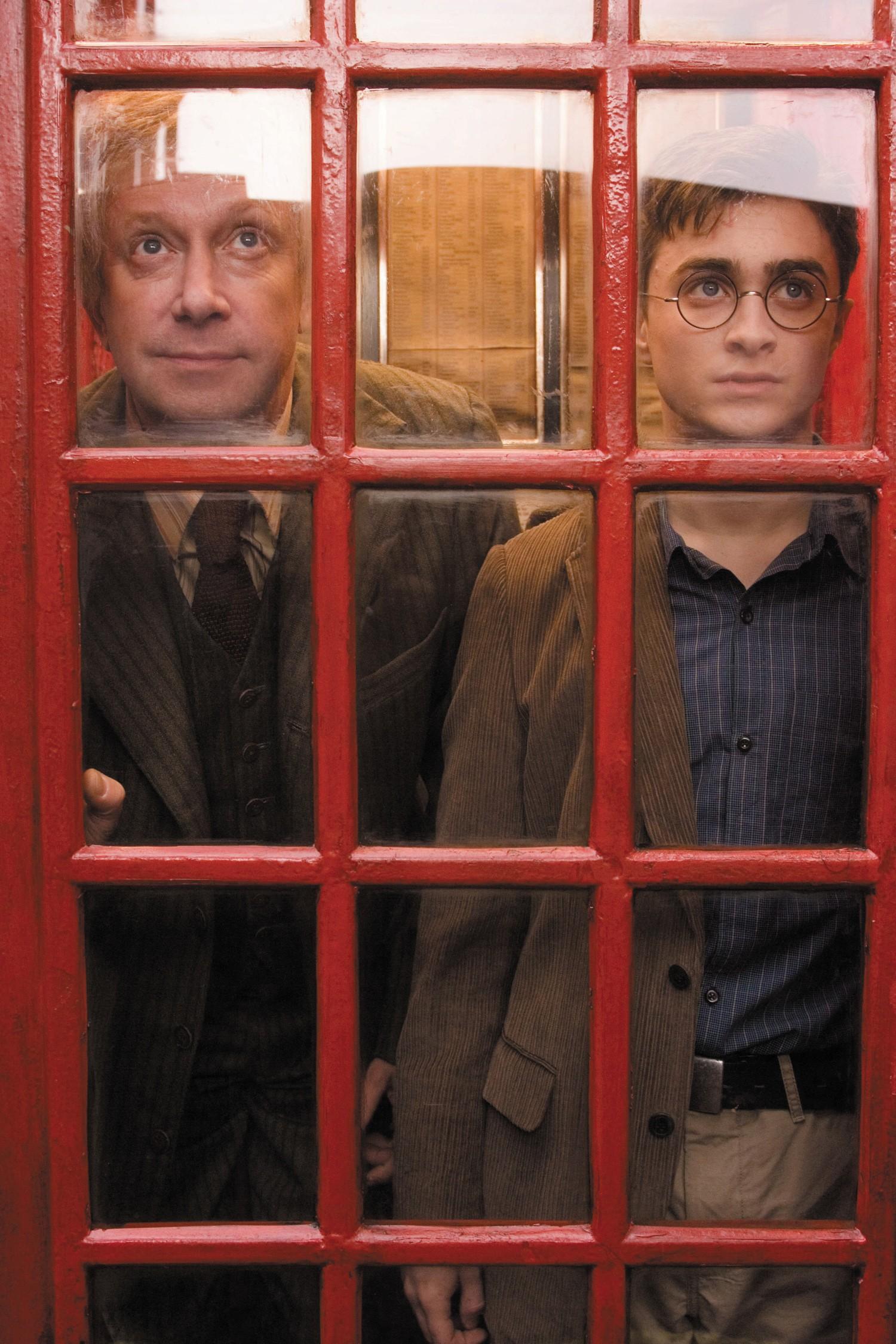 Daniel Radcliffe,Mark Williams