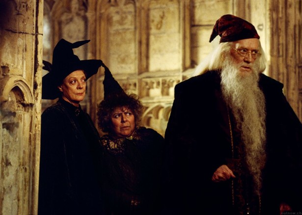 Maggie Smith,Miriam Margolyes,Richard Harris