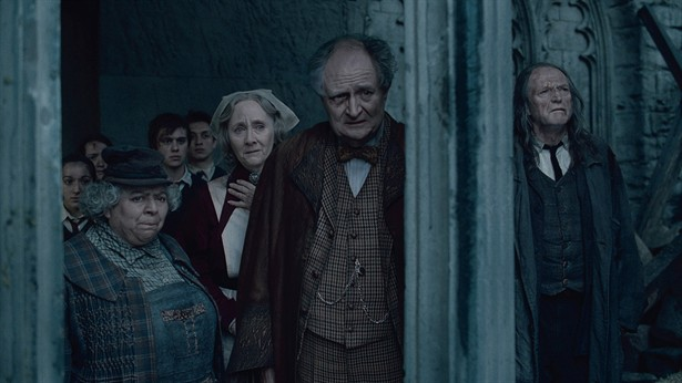 David Bradley,Gemma Jones,Jim Broadbent,Miriam Margolyes