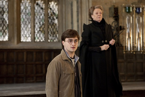 Daniel Radcliffe,Maggie Smith
