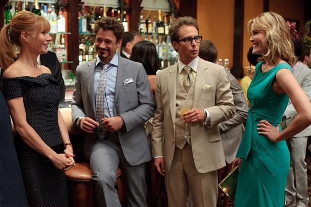 Gwyneth Paltrow,Leslie Bibb,Robert Downey Jr.,Sam Rockwell