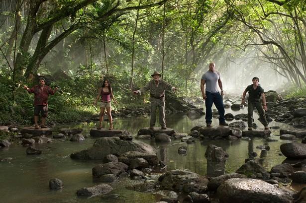 Dwayne 'The Rock' Johnson,Josh Hutcherson,Luis Guzm,Michael Caine,Vanessa Hudgens