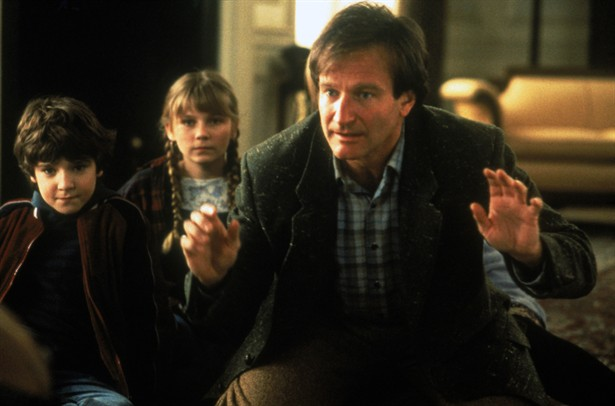 Bradley Pierce,Kirsten Dunst,Robin Williams