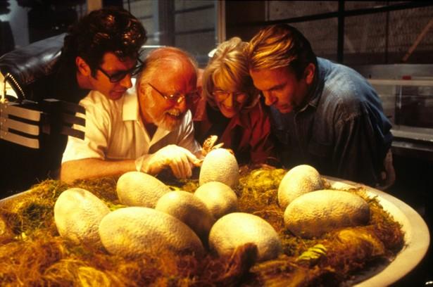 Jeff Goldblum,Laura Dern,Richard Attenborough,Sam Neill