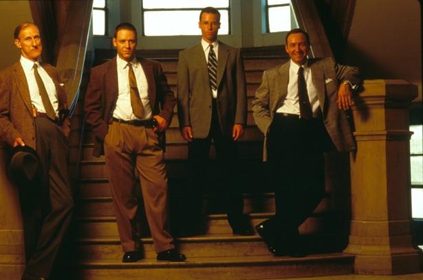 Guy Pearce,Kevin Spacey,Russell Crowe