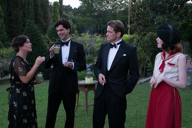 Colin Firth,Emma Stone,Marcia Gay Harden
