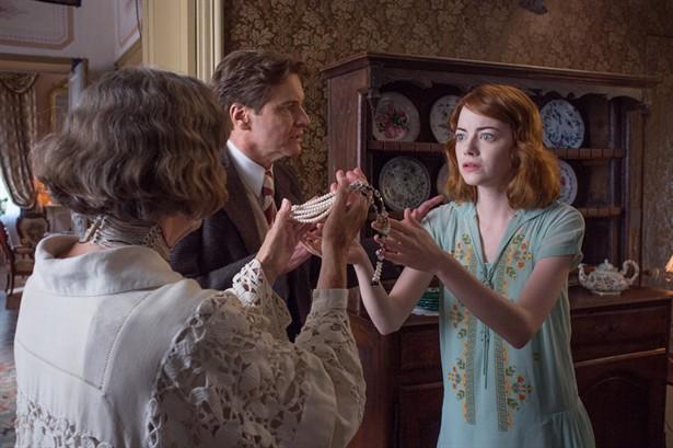 Colin Firth,Eileen Atkins,Emma Stone