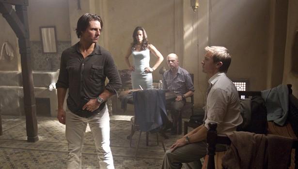 Jeremy Renner,Paula Patton,Simon Pegg,Tom Cruise