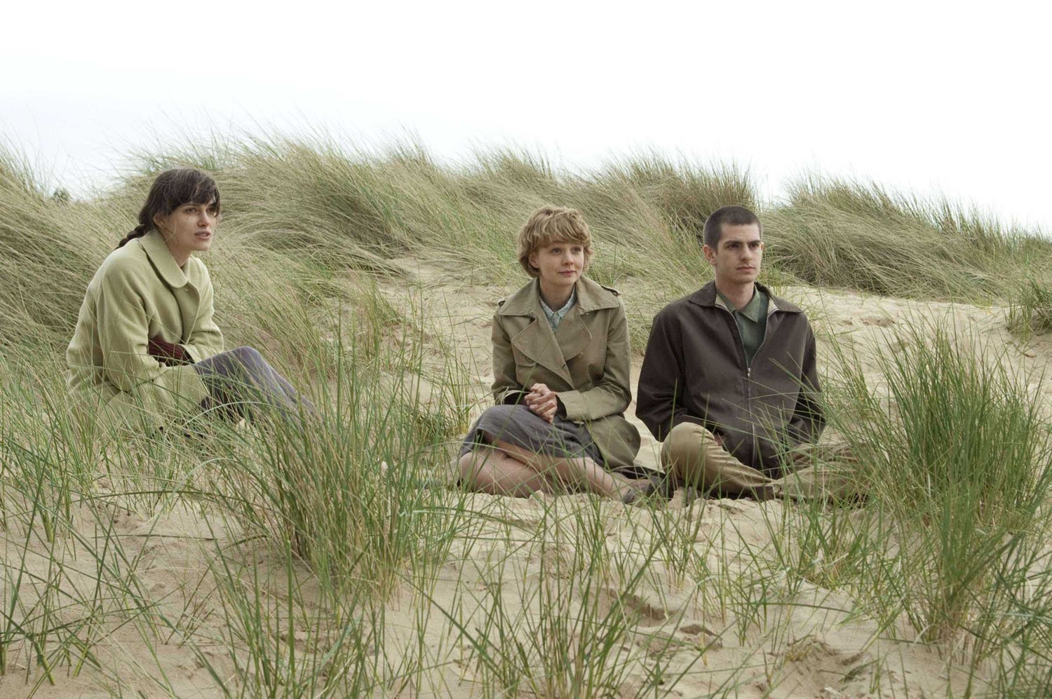 Andrew Garfield,Carey Mulligan,Keira Knightley