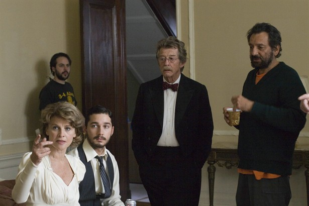 John Hurt,Julie Christie,Shia LaBeouf