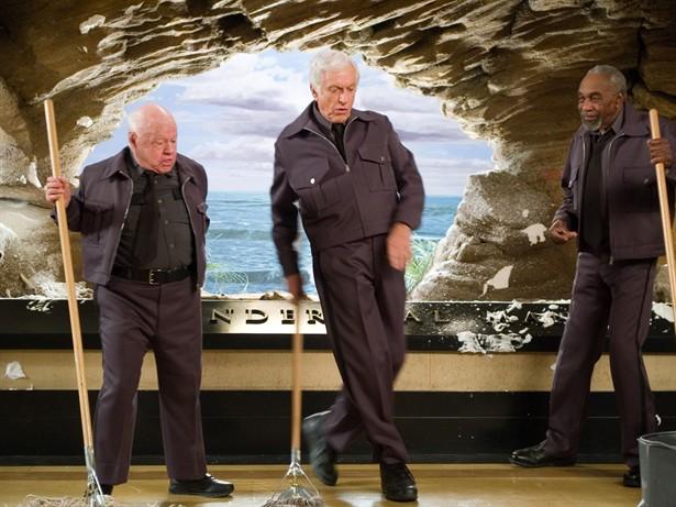 Bill Cobbs,Dick Van Dyke,Mickey Rooney