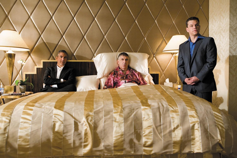 Elliott Gould,George Clooney,Matt Damon