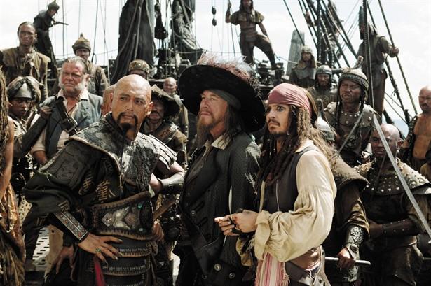 Geoffrey Rush,Johnny Depp,Yun-Fat Chow