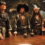 Geoffrey Rush,Johnny Depp,Keira Knightley,Mackenzie Crook